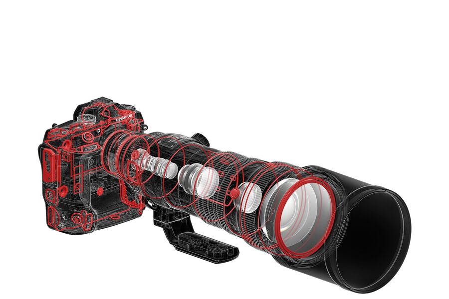 LENSES_EZ-M1540_PRO_E-M1X_Tcon-ON_Hood_LH-115_MC-20_waterproof__ProductAdd_001