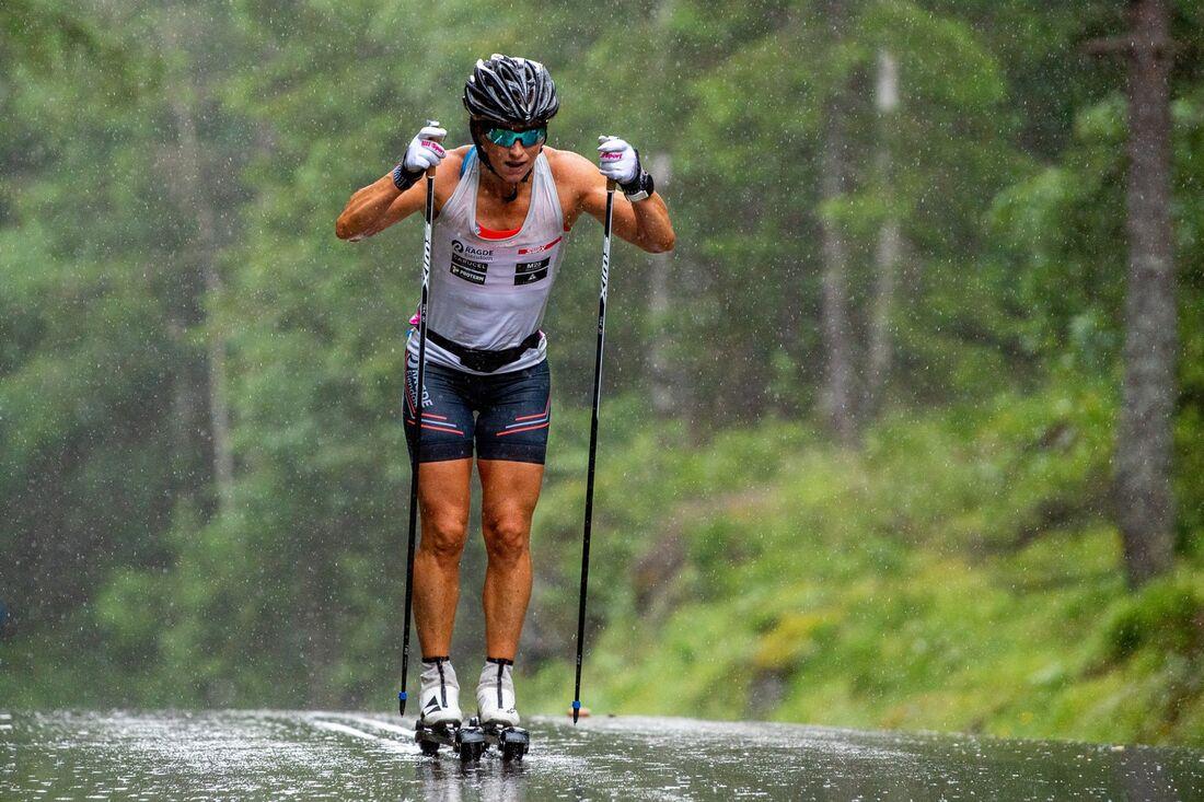 Marit Björgen får vänta på sin tävlingscomeback då hon varit utanför dopingprogrammet. FOTO: Vegard Vivestad Grøtt/Bildbyrån.