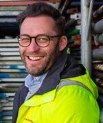 Prosjektleder Martin Johansson