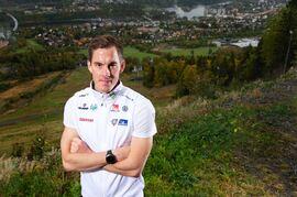 Johan Häggström satsar hårt mot VM-sprinten i Oberstdorf. FOTO: Nils Jakobsson/Bildbyrån.