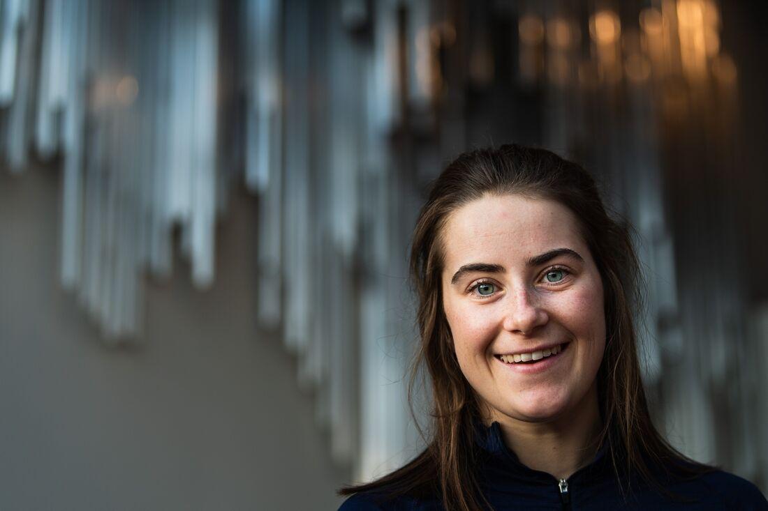 Ebba Andersson har ett bra träningsår bakom sig. Kommer hon ta sin första världscupseger i vinter? FOTO: Mathias Bergeld/Bildbyrån.