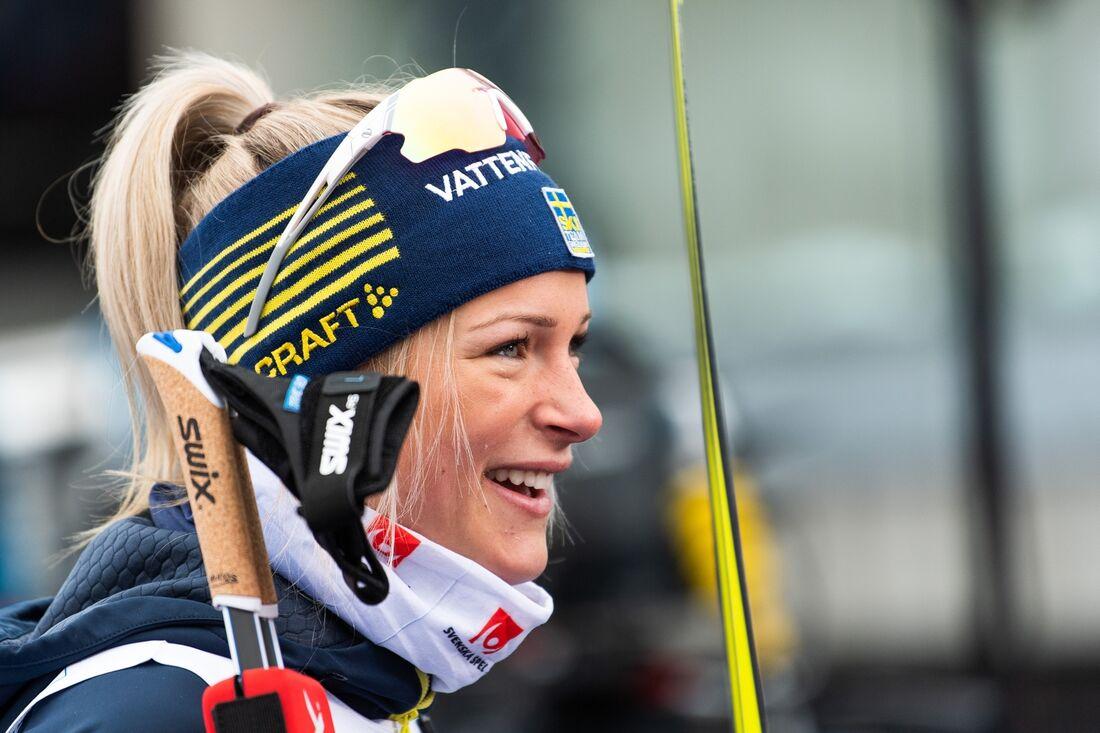 Frida Karlsson har störts av lite skadebekymmer den sista tiden men står på startlinjen vid Sverigepremiären i Bruksvallarna idag. FOTO: Mathias Bergeld/Bildbyrån.