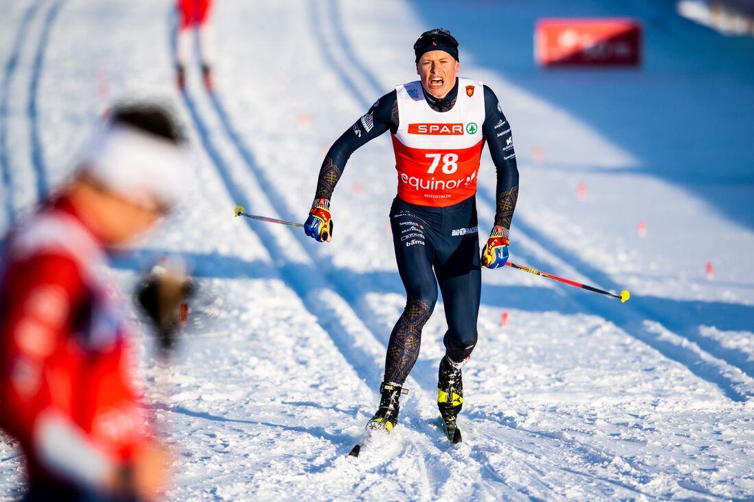 Mikael Gunnulfsen vann den norska distanspremiären i stor stil. FOTO: Vegard Wivestad Grött/Bildbyrån.