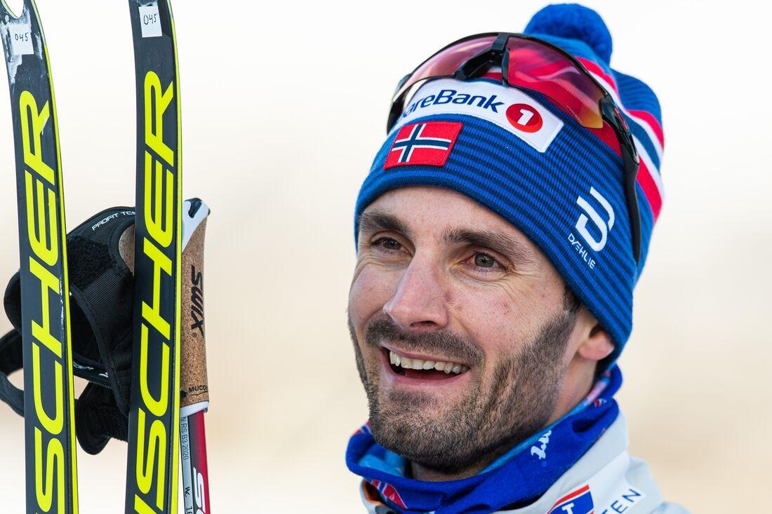 Hans Christer Holund är en av 22 åkare i det norska landslaget inför OS-säsongen 2020-2021. FOTO: Vegard Wivestad Grött/Bildbyrån.