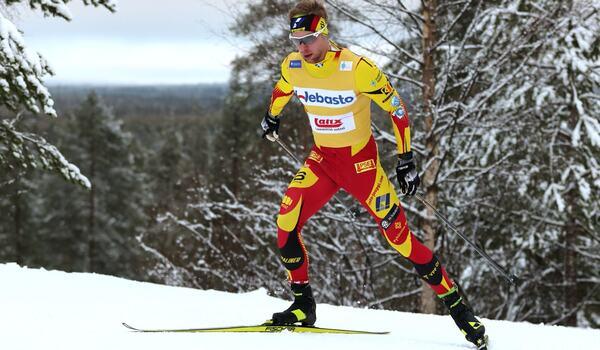 Joni Mäki tog dubbla segrar vid finska cupen i Taivalkoski i helgen. FOTO: Touho Häkkinen.