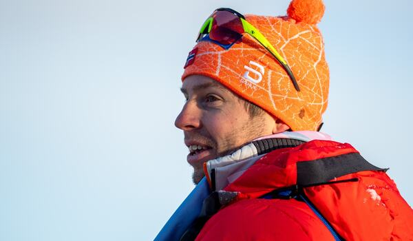 Norske huvudtränaren Eirik Myhr Nossum har testats positivt för covid-19. FOTO: Vegard Wivestad Grött/Bildbyrån.