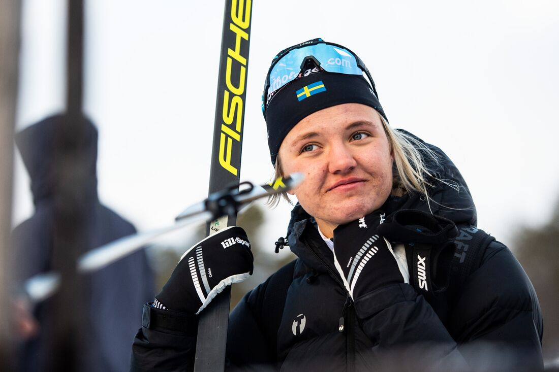 Linn Svahn är en av flera svenska damåkare som vi kan hoppas mycket på när världscupen startar med sprinttävlingar i Ruka, Finland, i morgon. FOTO: Johanna Lundberg/Bildbyrån.