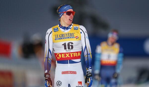 Johan Häggström blev tionde man på sprint i Ruka. FOTO: Tomi Hänninen/Bildbyrån.
