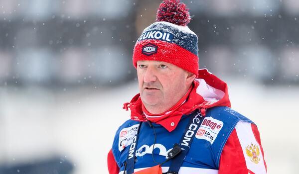 Den ryska landslagstränaren Markus Cramer säger att Ryssland tvekar om att åka Tour de Ski. FOTO: Carl Sandin/Bildbyrån.