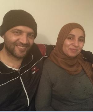 Osama og Hediyeh Alktezi