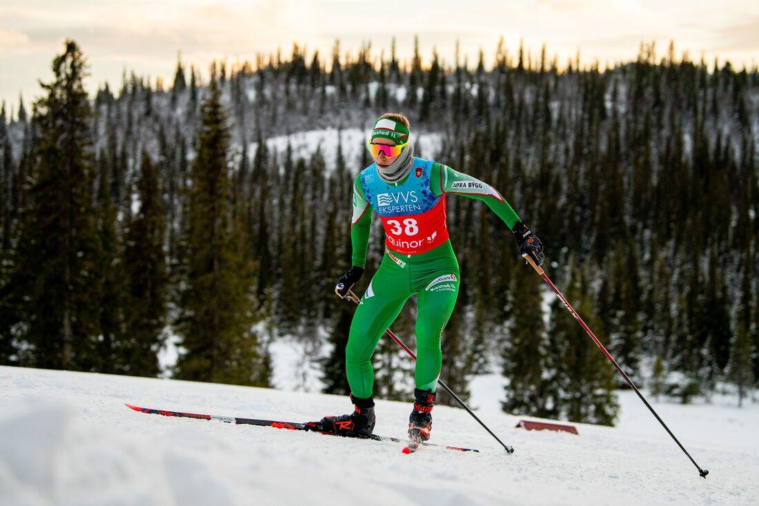 Långloppsåkaren Anikken Gjerde Alnæs vann fristilssprinten vid norska cupen i Lillehammer på fredagen. FOTO: Vegard Wivestad Grött/Bildbyrån.