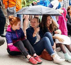 Molaus-jenter på Festivalen 2014-2