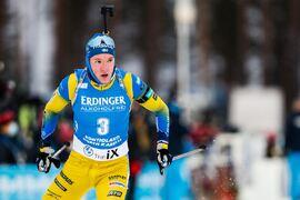 Efter en minst sagt stark säsongstart i Finland så väntar nu nya världscuptävlingar för Sebastian Samuelsson i österrikiska Hochfilzen. FOTO: Kalle Parkkinen/Bildbyrån.