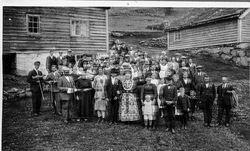 Bryllaup 1926 - Mana Strand, f