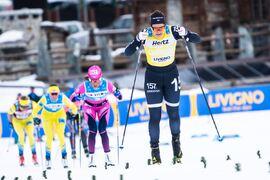 Britta Johansson Norgren ser fram emot starten av Visma Ski Classics säsong XI i Schweiz om två veckor. FOTO: Visma Ski Classics/Magnus Östh.
