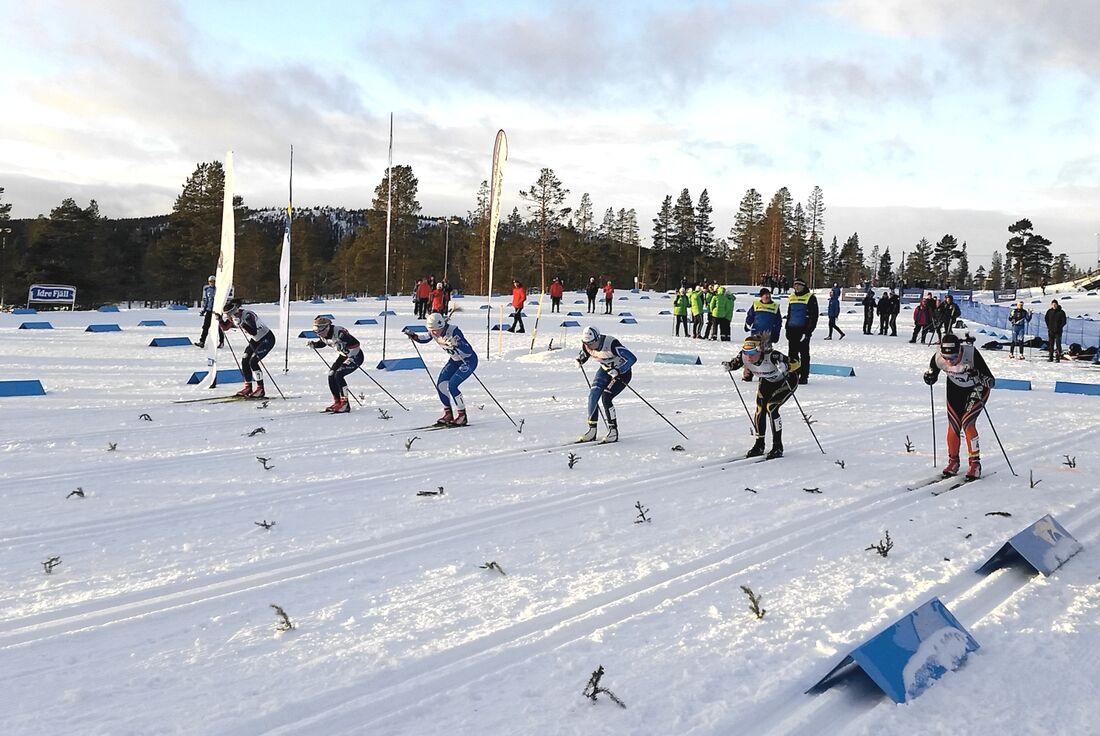 Åsarna IK kommer att arrangera OBS-tävlingar 23-24 januari, inför JVM. FOTO: Svenska skidförbundet.