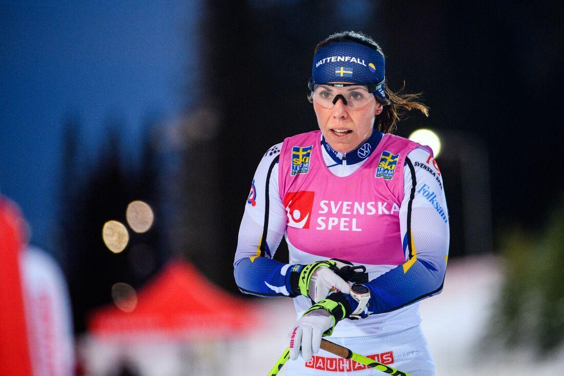 Sportbladet kommer livesända veckoslutets svenska cuptävlingar från Östersund med bland andra Charlotte Kalla på startlinjen. FOTO: Erik Mårtensson/Bildbyrån.
