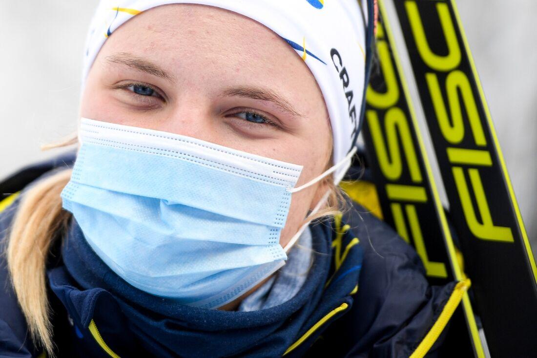 Linn Svahn har isolerats sedan hon testat positivt för covid-19. FOTO: Maxim Thore/Bildbyrån.