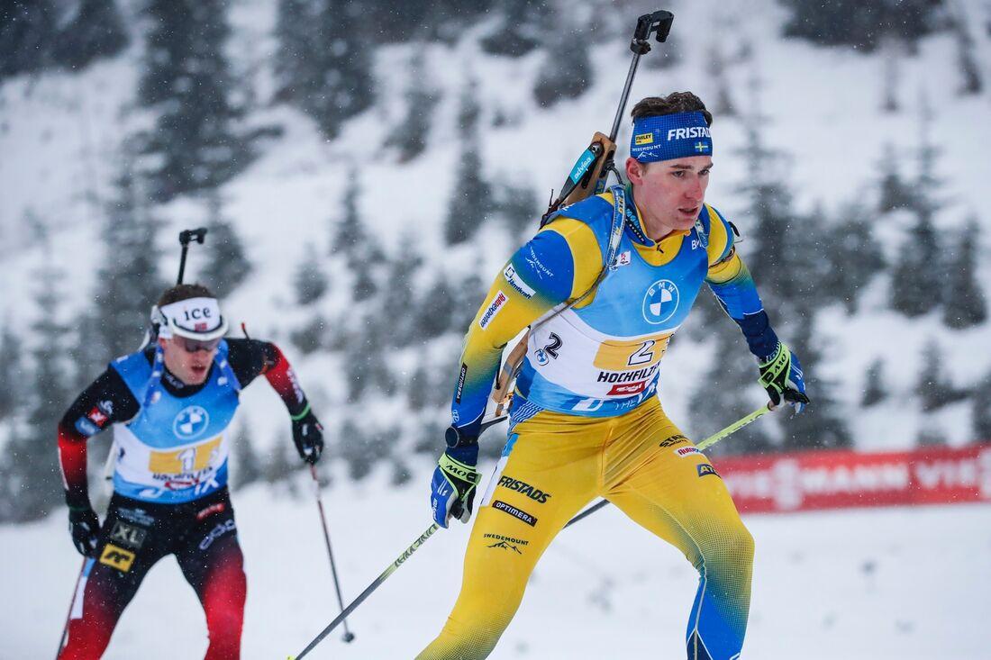Martin Ponsiluoma åkte till sjätte plats på sprinten i Oberhof. FOTO: Jasmin Walter, Gepa Pictures/Bildbyrån.