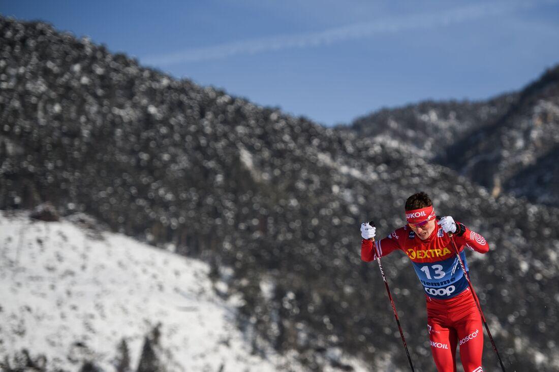Denis Spitsov klättrade snabbast under Final climb och slutade trea totalt. FOTO: Maxim Thore/Bildbyrån.