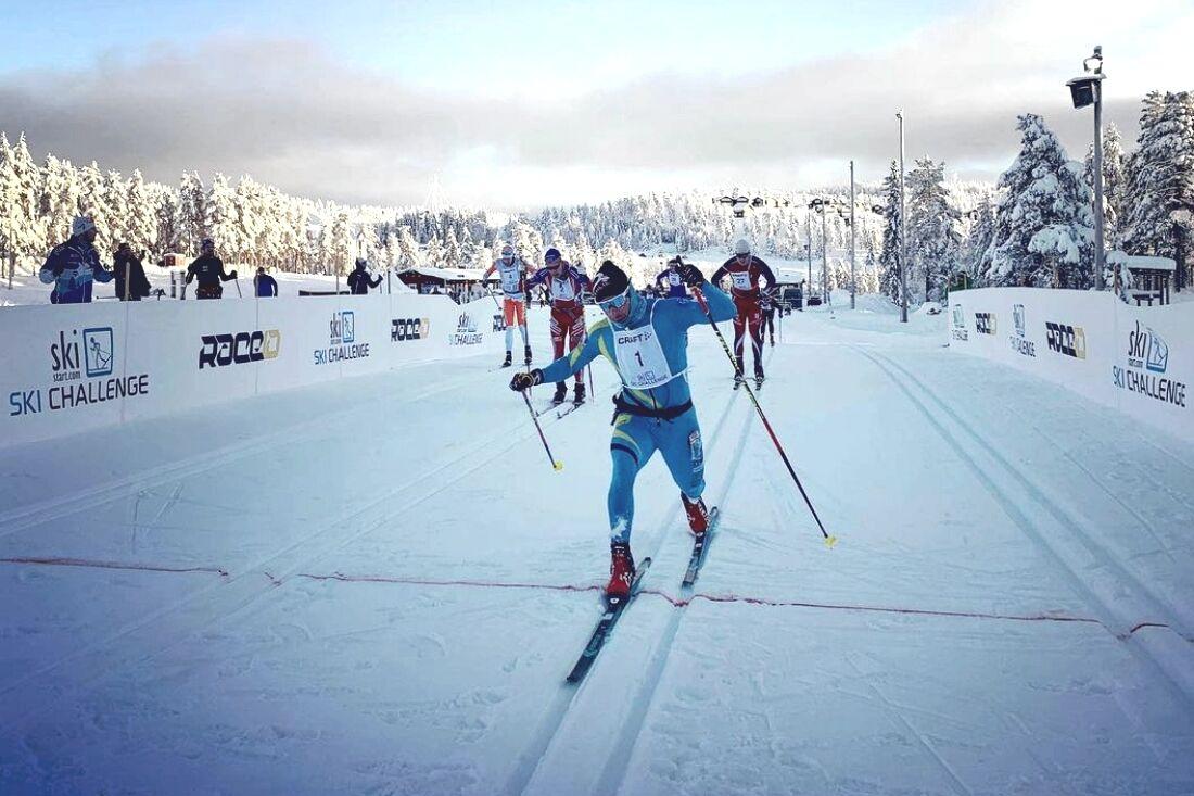 Bob Impola spurtade till seger på Craft Ski Marathon. FOTO: Instagram Bob Impola.