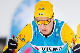 Max Novak tänker bjuda på nya överraskningar under Visma Ski Classics säsong XI som startar med Engadin La Diagonela på lördag. FOTO: Visma Ski Classics/Magnus Östh.