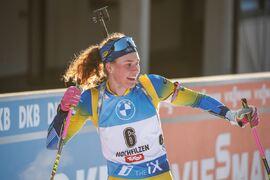 Hanna Öberg har tjänat mest prispengar av svenska aktiva inom olika skidsporter den gånga vintern. FOTO: Jasmin Walter, Gepa Pictures/Bildbyrån.