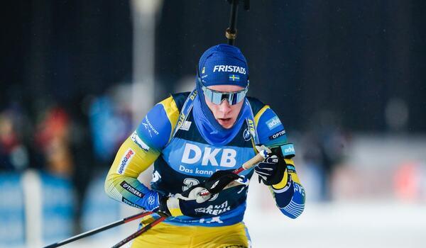 Sebastian Samuelsson blev 13:e på masstarten i Oberhof. FOTO: Kalle Parkkinen/Bildbyrån.