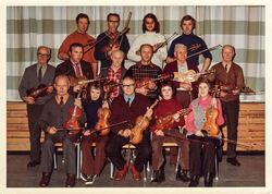 Kurs med Lars Skjervheim midt på 1970-talet