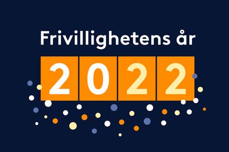 Logoen til Frivillighetens år 2022
