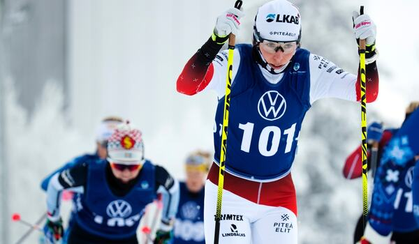 Charlotte Kalla gör säsongsdebut i världscupen i Lahtis, Finland, kommande helg. FOTO: Johan Axelsson/Bildbyrån.