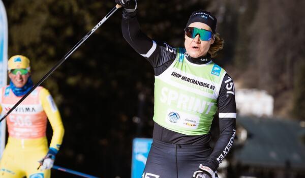 Britta Johansson Norgren ligger tvåa på Visma Ski Classics SC Ranking. FOTO: Visma Ski Classics/Magnus Östh.