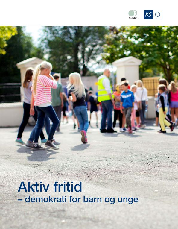 Aktiv fritid – demokrati for barn og unge. Eksempelhefte fra Bufdir