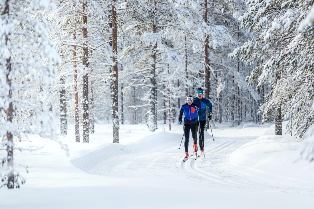 Orsa Grönklitt bjuder på 13 mil spår.