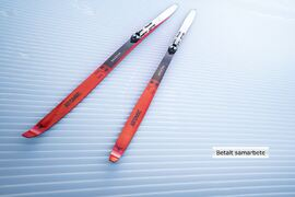 Atomics nya skateskida, Redster S9 Gen S, kommer med helt nya mått: 47-40-47 millimeter. FOTO: Atomic.