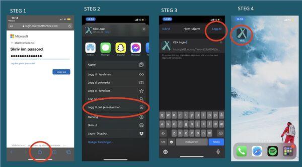 Compilo på mobil bilde