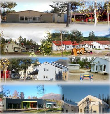Skoler og barnehager