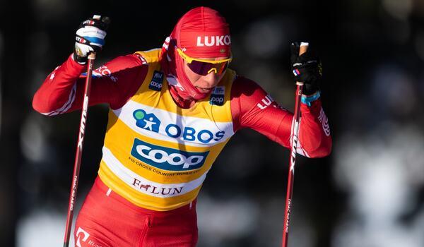 Alexander Bolshunov har haft tandpromblem och opererats i käken två gånger. FOTO: Simon Hastegård/Bildbyrån.
