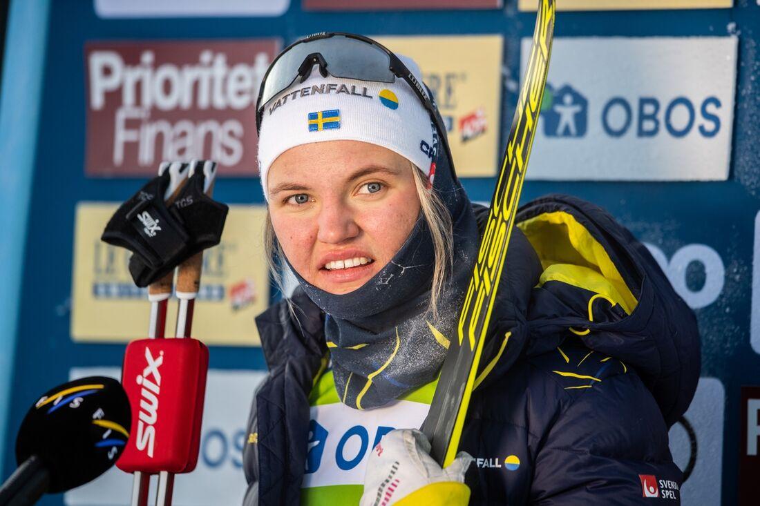 Ska Linn Svahn vinna för andra dagen i rad i Falun när sprint står på programmet idag?  FOTO: Simon Hastegård/Bildbyrån.