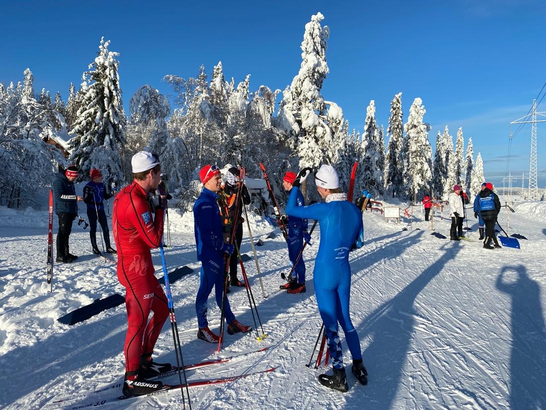 Eftersnack i Norra Garberg. FOTO: IFK Mora SK.