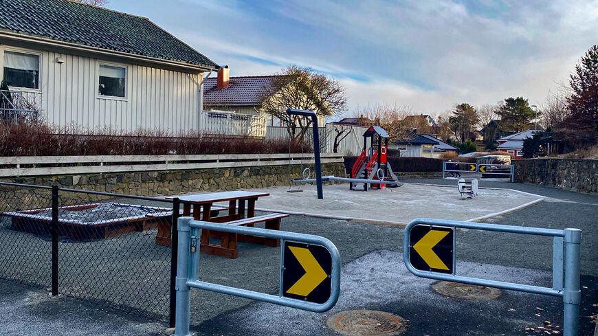 Lekeplass på Iglatjørnveien