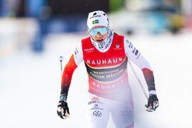 Ebba Andersson vann programenligt SM på 10 kilometer i fri stil tisdagsmorgonen. FOTO: Mathias Bergeld/Bildbyrån.