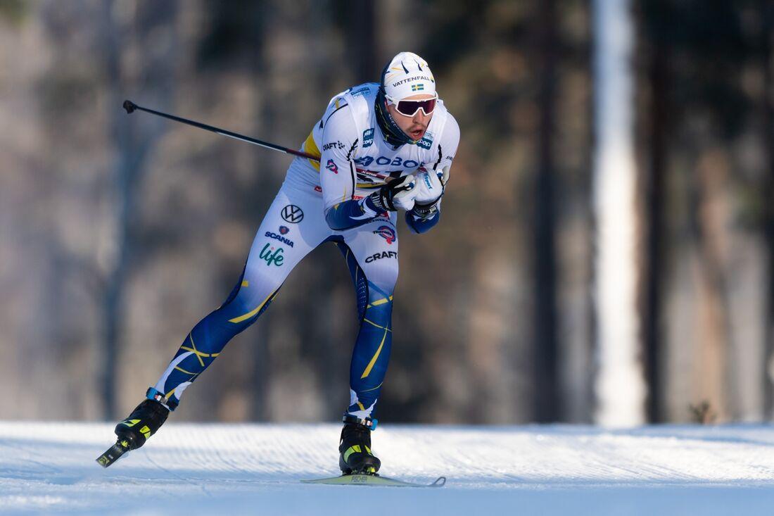 William Poromaa blev fyra på 15 kilometer vid U23-VM i Finland. FOTO: Simon Hastegård/Bildbyrån.