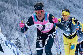 Emil Persson har en ny seger i sikte när det är dags för Jizerska 50 i Tjeckien i morgon. FOTO: Visma Ski Classics/Magnus Östh.