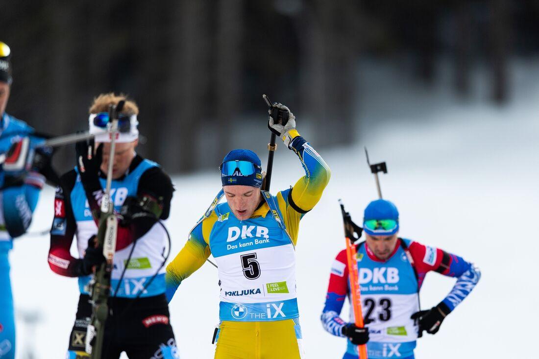 Sebastian Samuelsson slutade på tionde plats på masstarten vid VM i Pokljuka. FOTO: Joel Marklund/Bildbyrån.