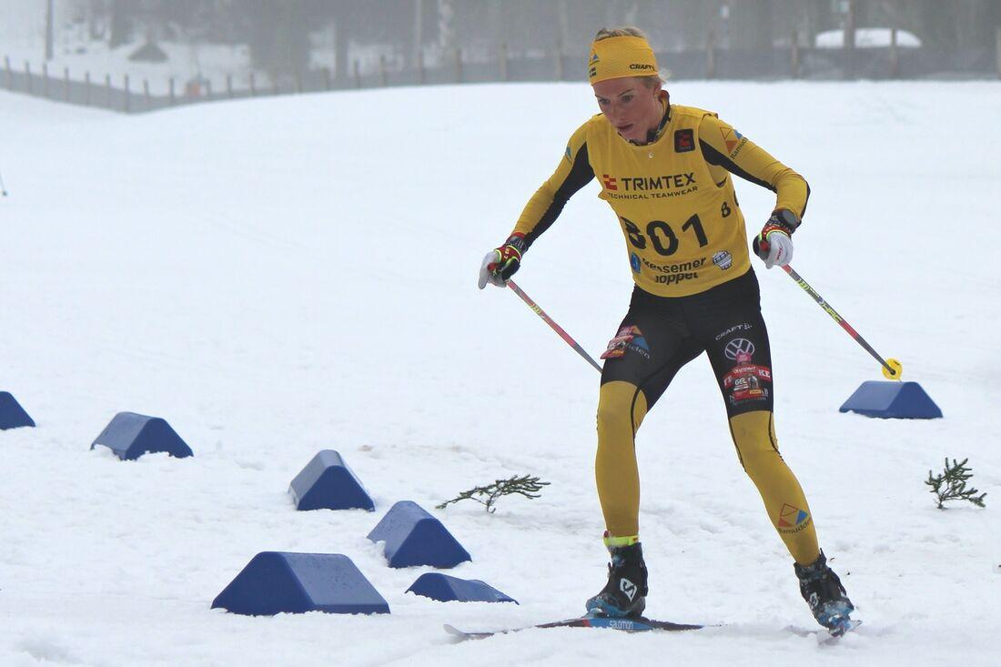 Ida Dahl vann en förkrossande seger på Bessemerloppet på söndagen. FOTO: Bessemerloppet.
