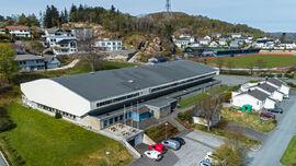 Egersundshallen drone