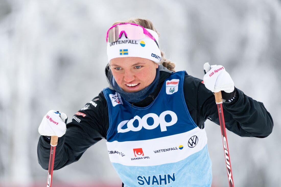 Linn Svahn är ett av Sveriges största medaljhopp under VM i Oberstdorf som börjar med sprint på torsdag. FOTO: Carl Sandin/Bildbyrån.