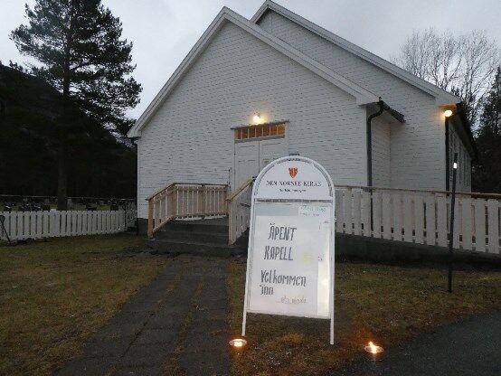 Åpent kapell i Mørsvikbotn