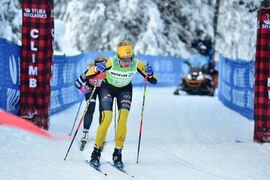 Ida Dahl, Team Ramudden, tror på sig själv inför Vasaloppet i morgon. FOTO: Björn Reichert/Nordic Focus.